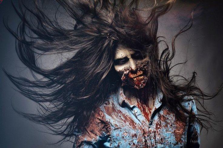 La fête d'Halloween approche. Nous aimerions vous présenter un tutoriel de maquillage zombie facile qui est parfait pour les femmes.