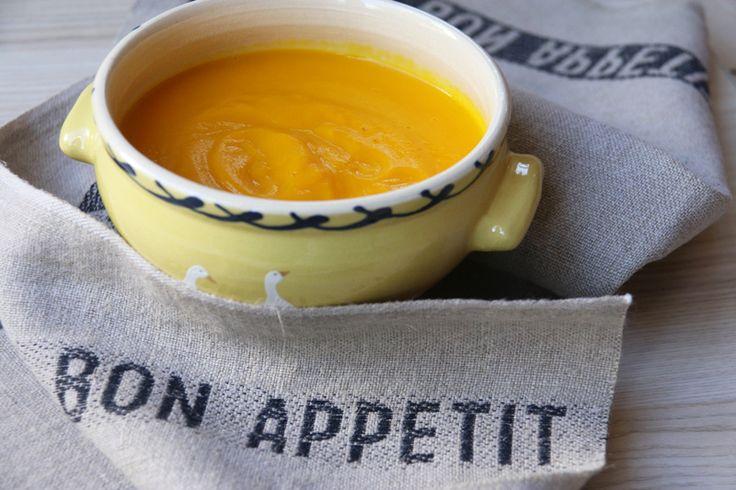 Velouté carottes / potimarron (au Thermomix ou sans)