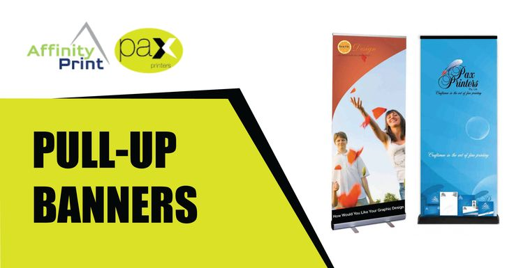 Pull up Banners are a great way to make a great first impression at your office, event or tradeshow. We take the time to understand the needs of our clients while providing a top quality, friendly and impressively fast banner printing service. #PullupBanners #Banners