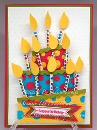 Adorable birthday card idea
