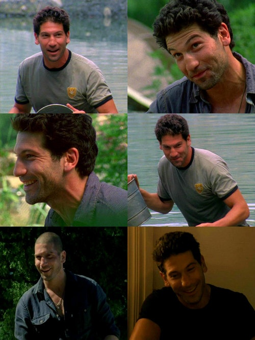 #ShaneWalsh #JonBernthal        The Walking Dead ⟶ Shane Walsh smiling ↳ requested byanon