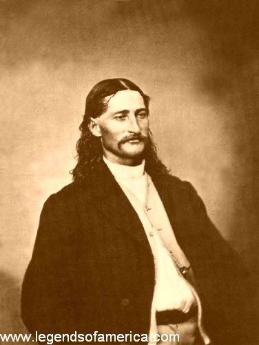 """For someone """"devoid of vanity,"""" James Butler Hickok must have had his picture made more than any other figure in the American West. At a time when some of the many famous men and women of the West never had even one photograph of themselves taken, Bill Hickok had his made over and over again."""