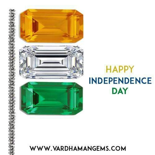 HAPPY INDEPENDENCE DAY from http://www.vardhamangems.com/ 15 August 2015