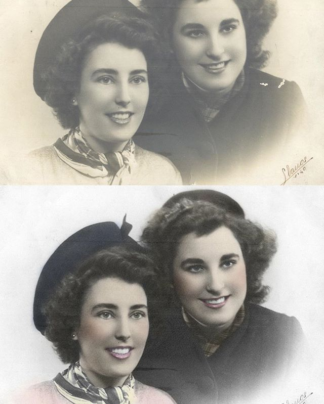 Bring your old photos to life with us!! #miami #photoshopmiami #photoretouch #photoshopartist #art #photographer #miamiphotographer #oldphoto #oldschool #fotosantigas