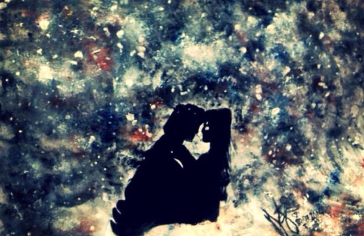 LOVE makes sens in the univers ! By me! Teddy's ART ^^