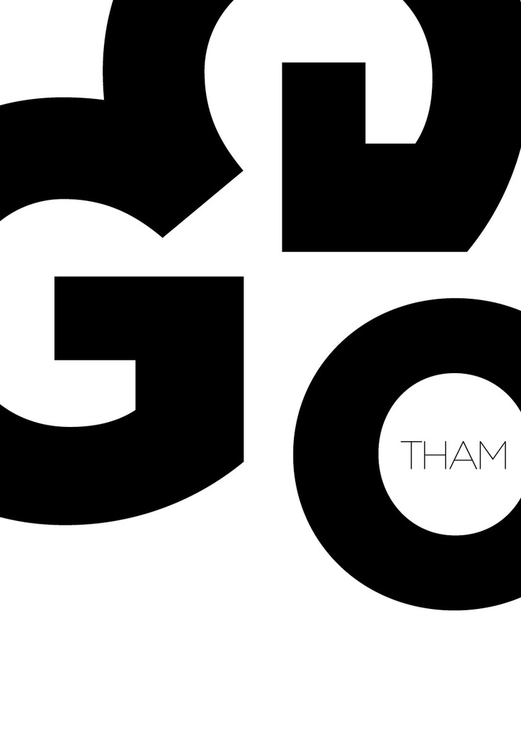 GOTHAM typeface poster_3