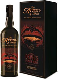 Drink... Taste Test: Smooth as Satan's Patter – The Devil's Punch Bowl Single Malt from the Arran Distillery