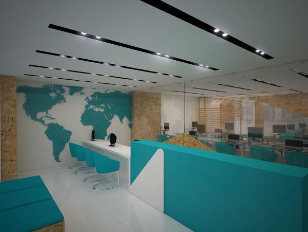 Travel agency interior buscar con google travel shop for Interior design travel agency