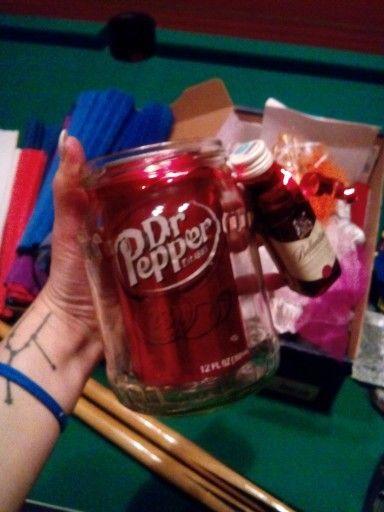 Dr.pepper kola ballentines whiskey befőttesüveg karácsony diy 2015
