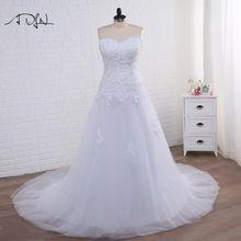 US $75.15 ADLN Luxurious Corset Plus Size Mermaid Wedding Dress 2017 Sweetheart Tulle Applique Bridal Gown Vestidos de Novia. Aliexpress product