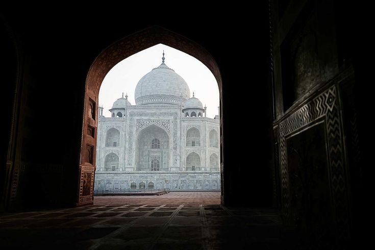 Ilusi optik dari Taj Mahal