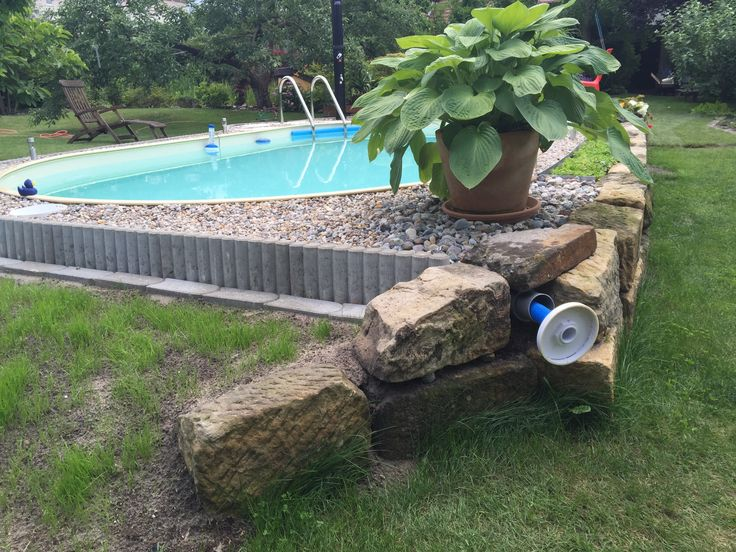 60 best Pool images on Pinterest House, Outdoor patios and - holzpool selber bauen