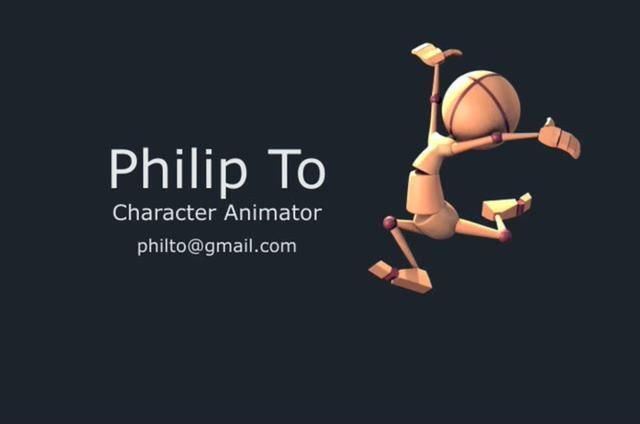 Philip To - Animation Mentor Demo Reel