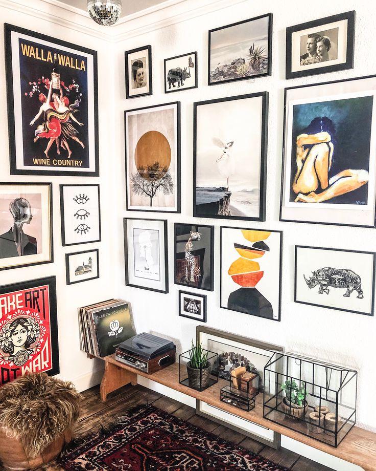Gallerywall at home
