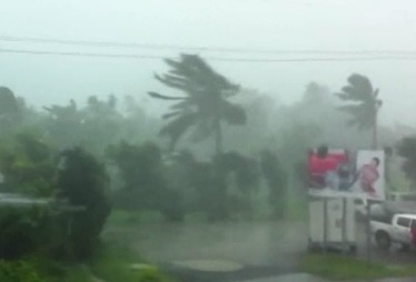 December 17, 2012 — Tropical Cyclone Evan has arrived in Fiji and it's brought powerful winds and rain to the island nation. Tropical cyclone Evan has already caused widespread destruction in neighbouring Samoa