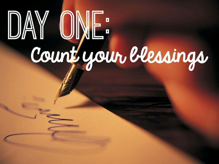 essay on count your blessings