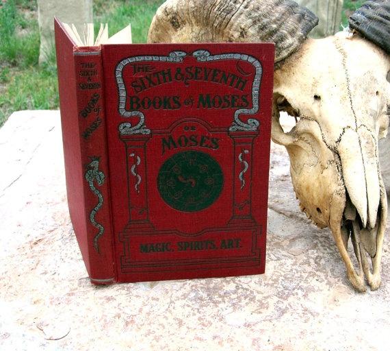 Occult book of Demons - Original 1900 Antique Magical Grimoire