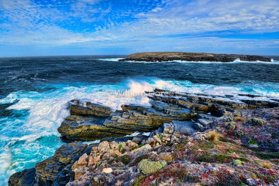 Seascape Kangaroo Island Australia fine art photo by WilliamDoree