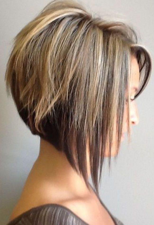 coiffure carre plongeant tendance
