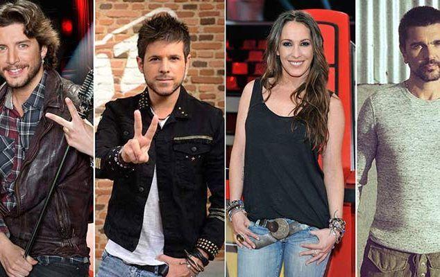 Juanes, Malú, Pablo López y Manuel Carrasco serán los coaches de 'La Voz 5'