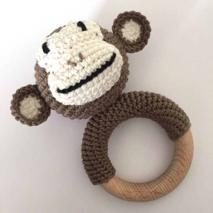 Gehaakte Rammelaar aap