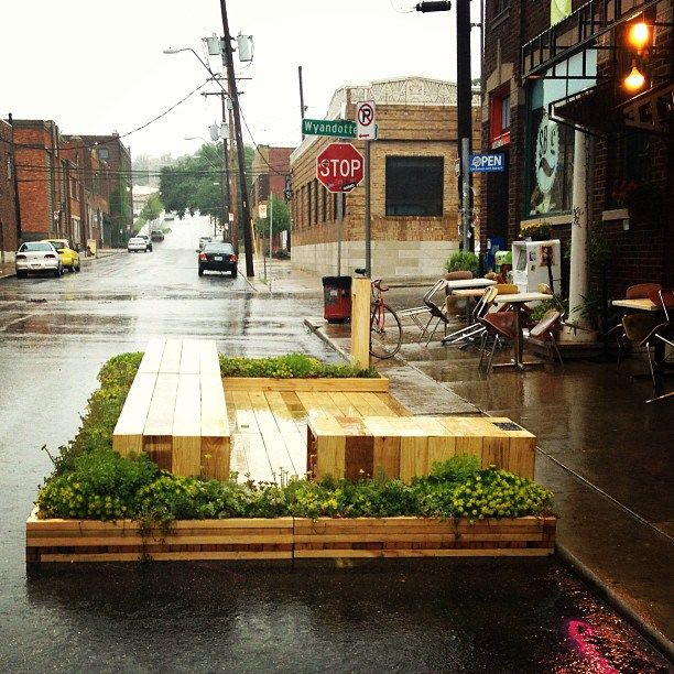 Kansas City Crossroads Parklet