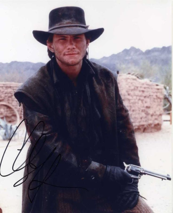 Christian Slater in Young Guns II