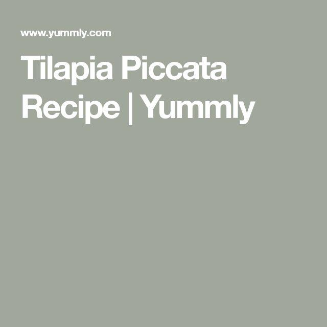 Tilapia Piccata Recipe   Yummly