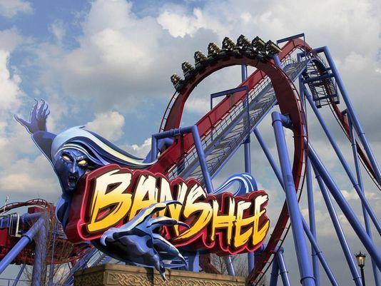 Banshee Roller Coaster | Kings Island Banshee roller coaster opens April 18