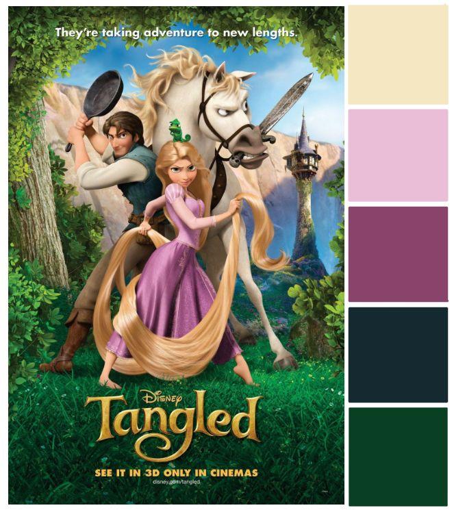 Poster Palette - Tangled