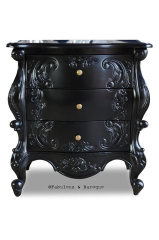 Night's Dream Side Table - Black