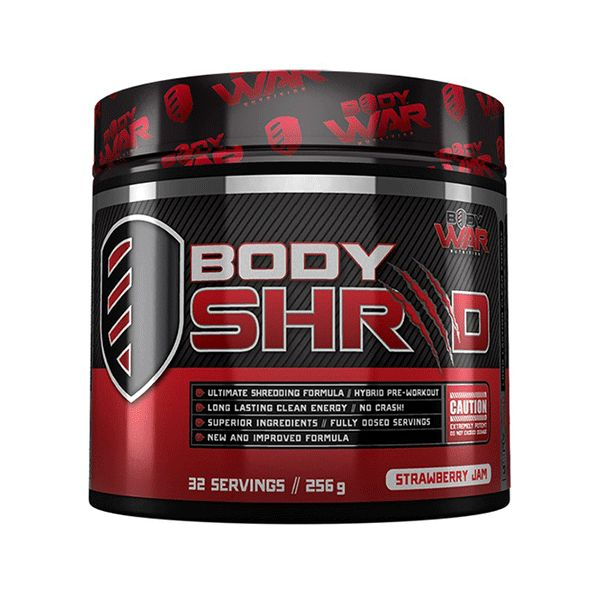 Body War Nutrition Body Shred - Second To None Nutrition