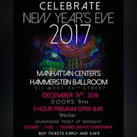 NYE NYC 2017 at Hammerstein Ballroom - http://nyenyc.party/2016/12/01/nye-nyc-2017-at-hammerstein-ballroom/