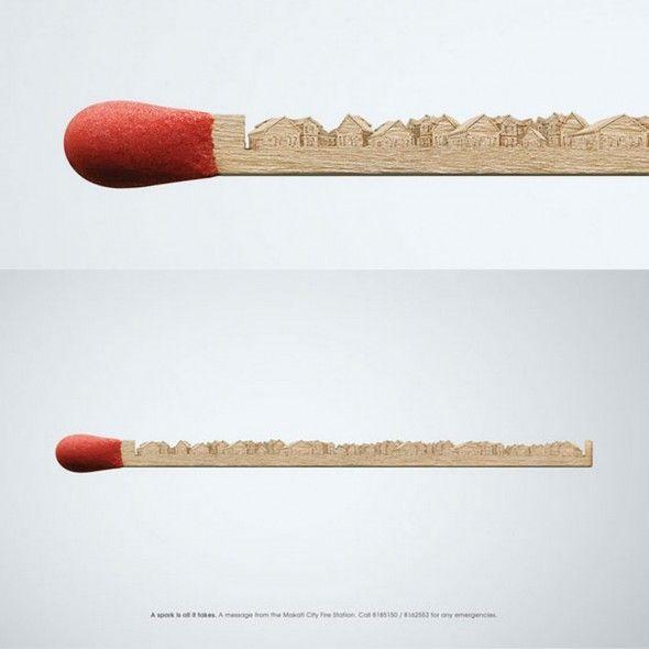 Art on a match