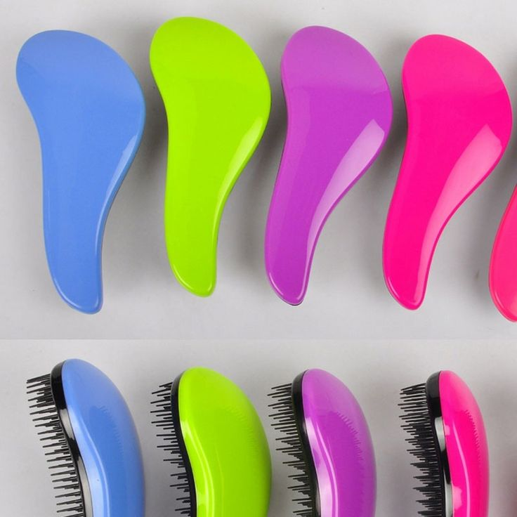 1Pcs Hair Brush Combs Magic Detangling Handle Tangle Shower Hair Brush Comb Salon Tamer Tool Hair Care Anti-static Hair Brushes