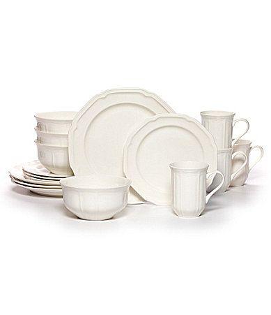 Mikasa Antique White 16Piece Dinnerware Set #Dillards