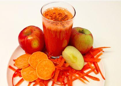 In the Reboot Kitchen: Carrot Cake Juice | Reboot With Joe