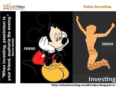 Value Investing: In Investing Euphoria is Your Enemy Slide