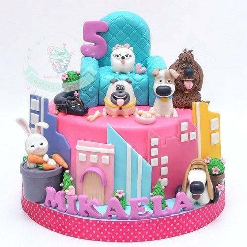 Secret Life of Pets - Cake by Agnes Fenny