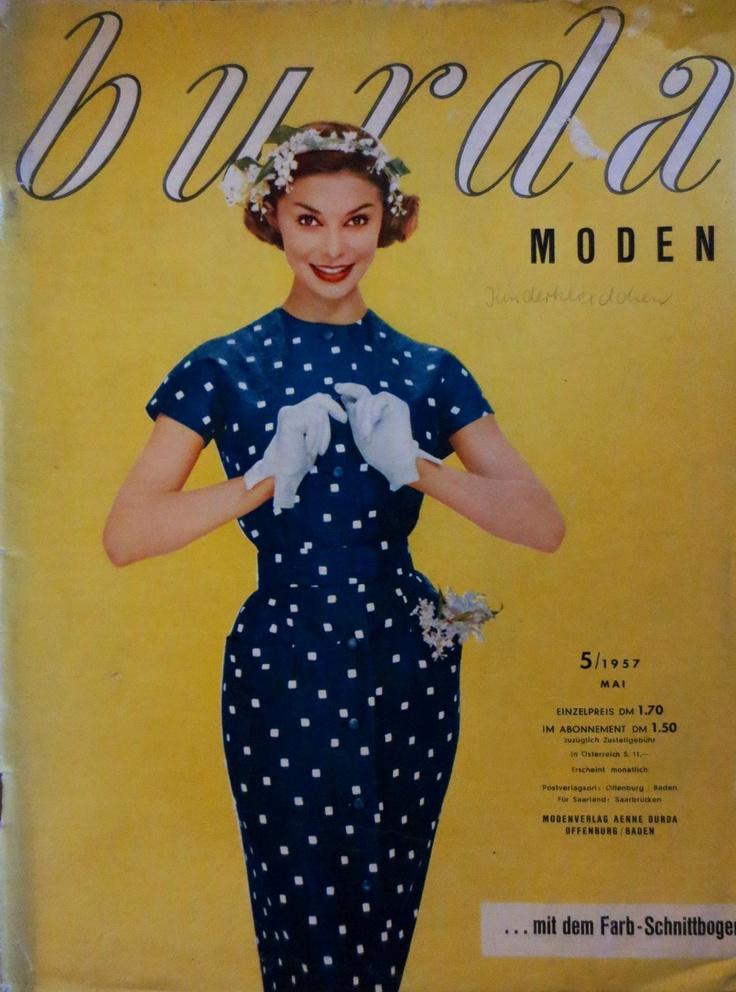 31 best vintage burda magazines images on pinterest fashion vintage vintage fashion and 1950s. Black Bedroom Furniture Sets. Home Design Ideas