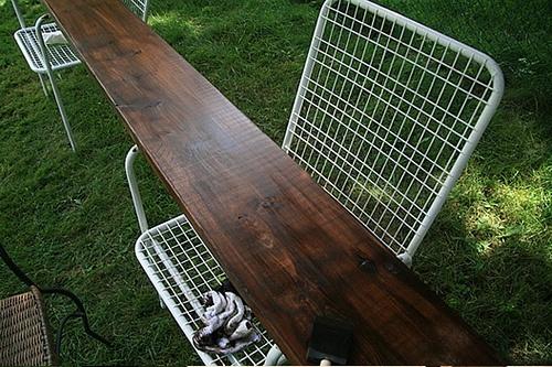 Rust Oleum Varathane Wood Stain Desk Stained In Dark