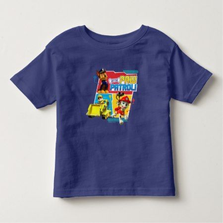 PAW Patrol | Call The PAW Patrol! Toddler T-shirt - tap, personalize, buy right now!