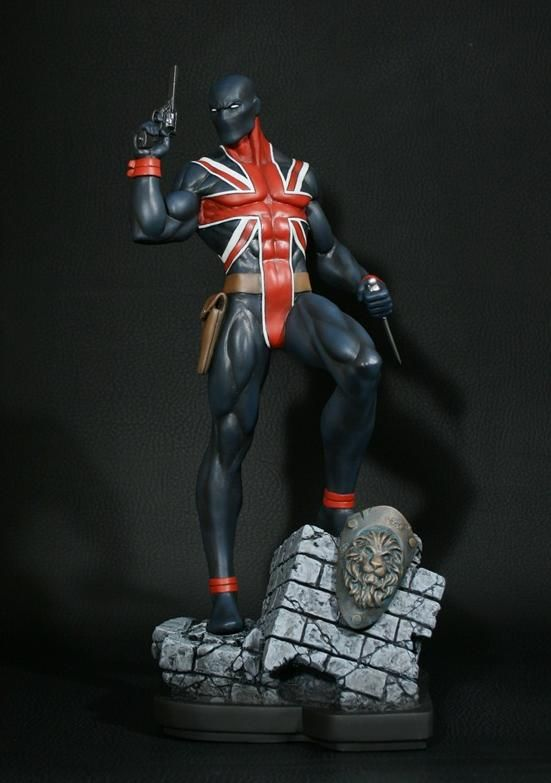Bowen Marvel Union Jack Statue