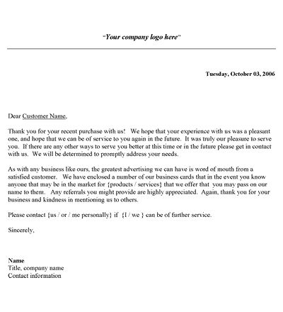 188 best images about Business Forms – Formal Thank You Letters