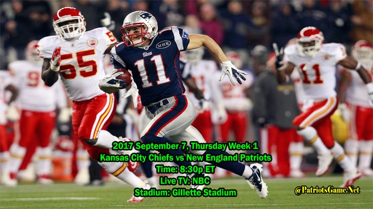 Patriots vs Chiefs Tonight Games Time & Venue