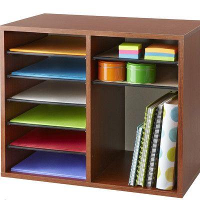 Safco Products Adjustable Literature Organizer & Reviews | Wayfair