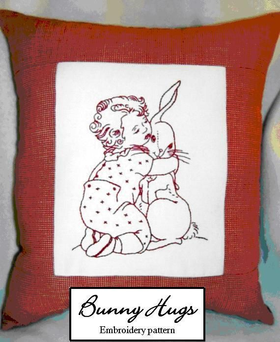 Best images about embroderie bunnies on pinterest