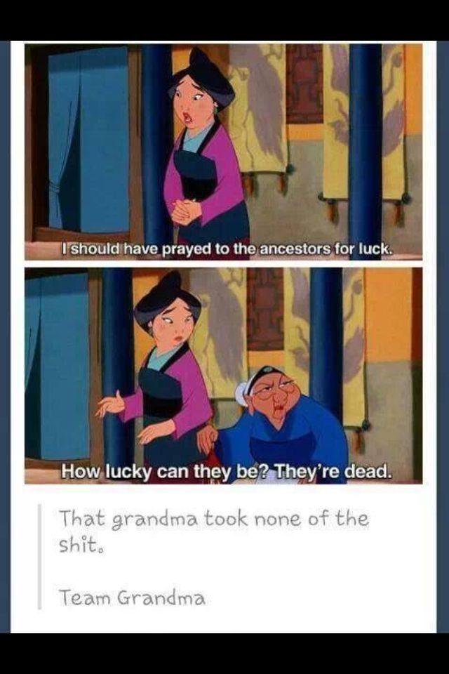 Go granny!