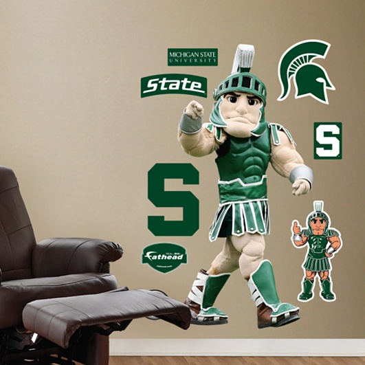 Michigan State Mascot - Sparty, Michigan State Spartans