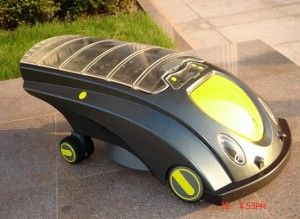 Fully Automated Solar-powered Lawn Mower Robot